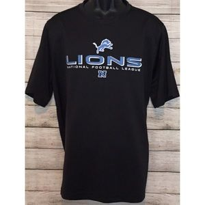 Like New Large Detroit Lions Dry Fit Shirt.